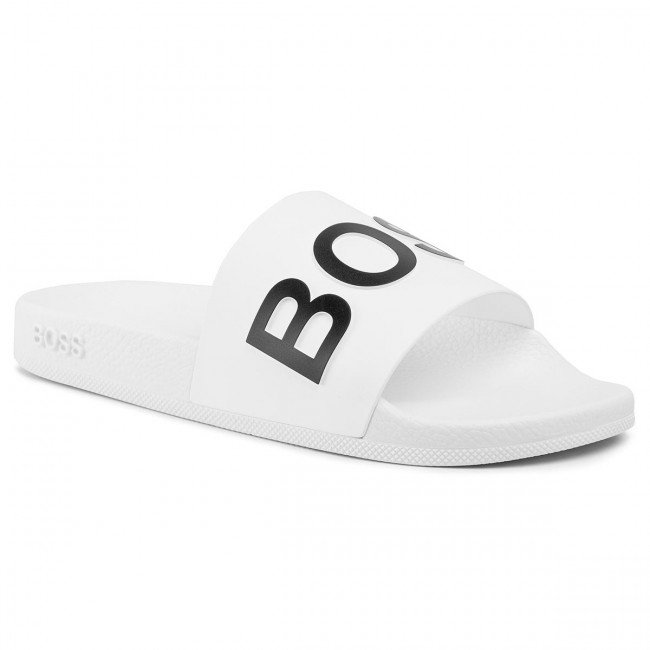 Šľapky BOSS - Bay 50425631 10224216 01 White 100