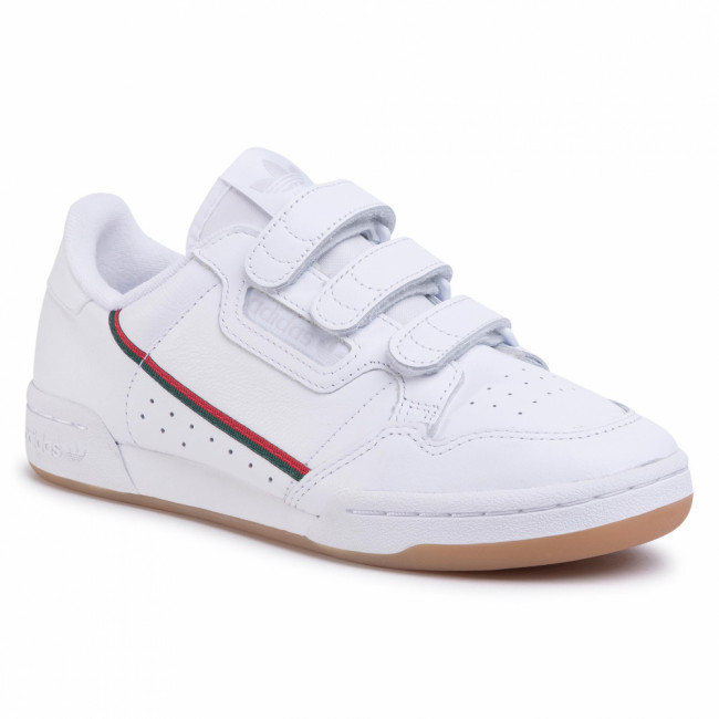 Topánky adidas - Continental 80 Strap EE5359 Ftwwht/Cgreen/Scarle