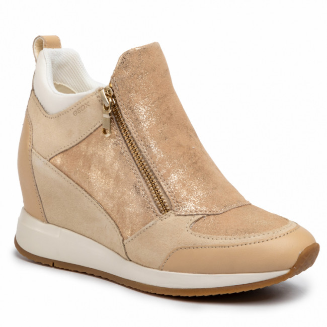 Sneakersy GEOX - D Nydame E D020QE 07722 C5004 Sand