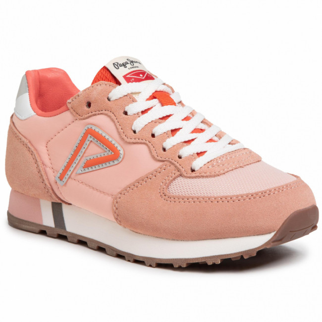 Sneakersy PEPE JEANS - Klein Archive PGS30425 Coral 179