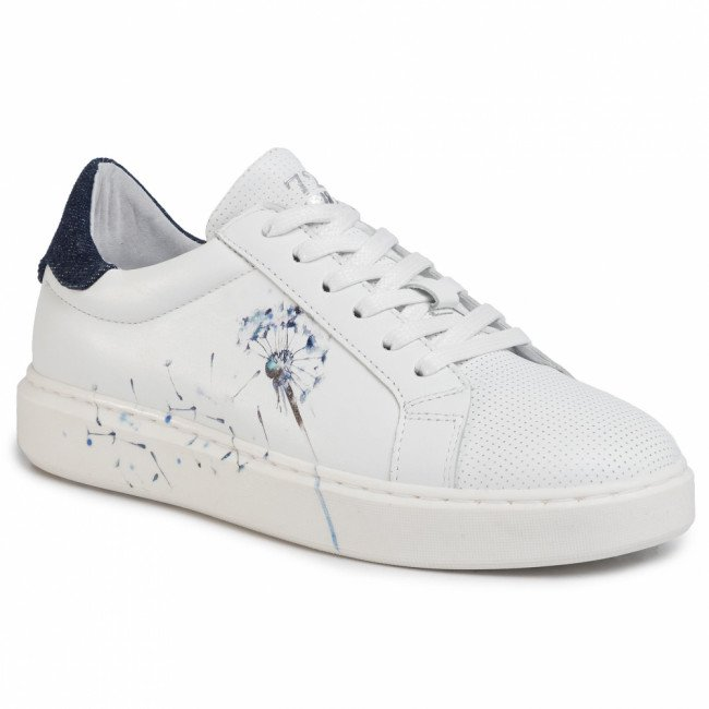 Sneakersy CYCLEUR DE LUXE - Fox Poppy CDLW201549 White/Dark Jeans