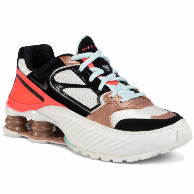 Topánky NIKE - Shox Enigma CT3451 100 Sail/Black/Mtlc/Red Bronze