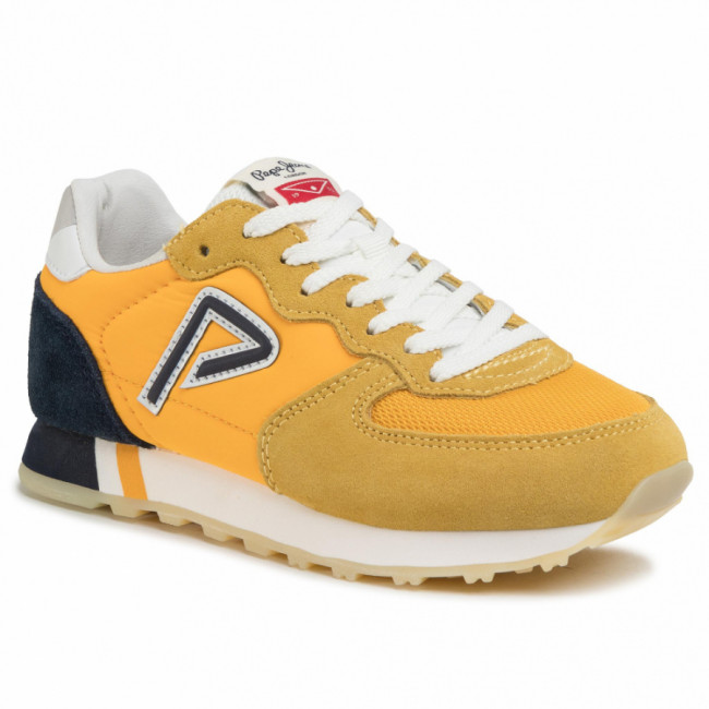 Sneakersy PEPE JEANS - Klein Archive Summe PBS30424  Ochre Yellow 097