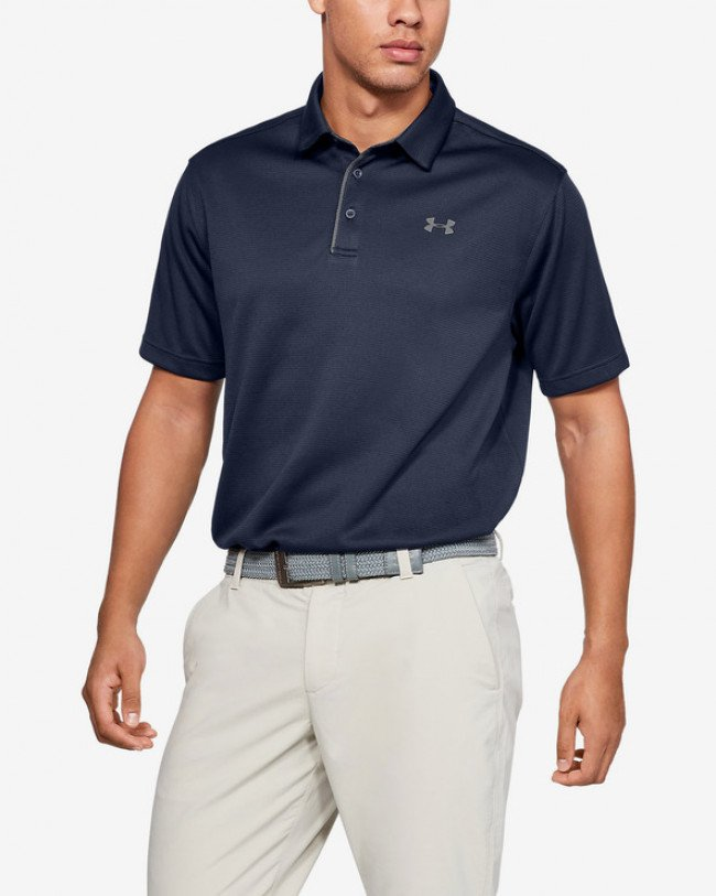 Under Armour Tech™ Polo tričko Modrá