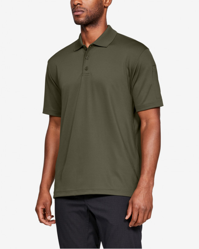 Under Armour Tactical Performance Polo tričko Zelená