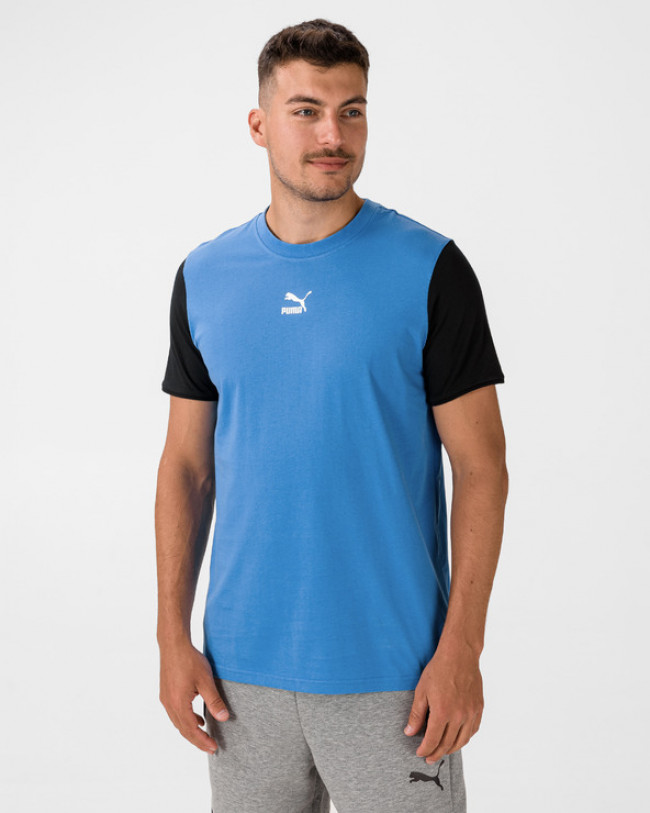 Puma Tailored for Sport Tričko Modrá