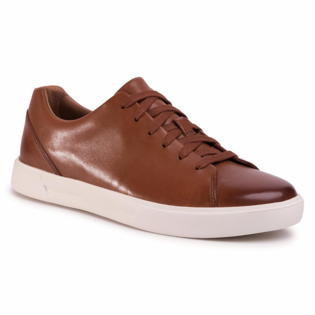 Sneakersy CLARKS - Un Costa Lace 261486907  British Tan Leather