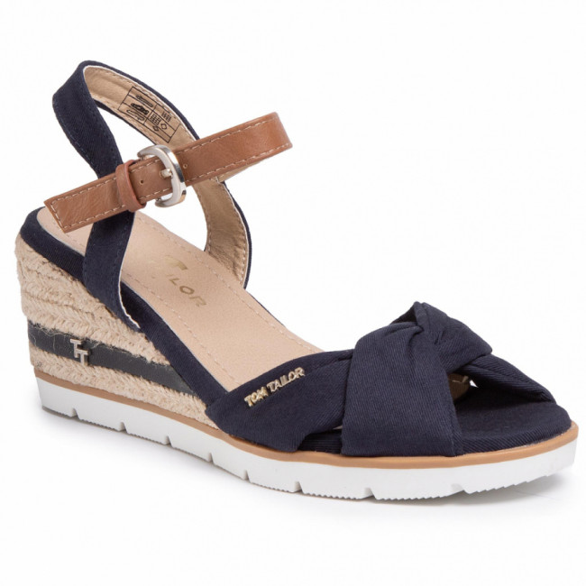 Espadrilky TOM TAILOR - 8090403  Navy