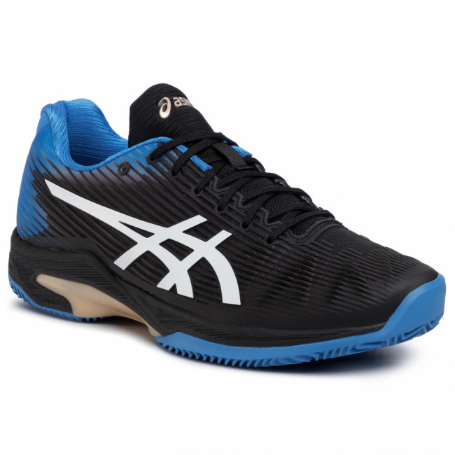 Topánky ASICS - Solution Speed Ff Clay 1041A004 Black/Blue Cost 012