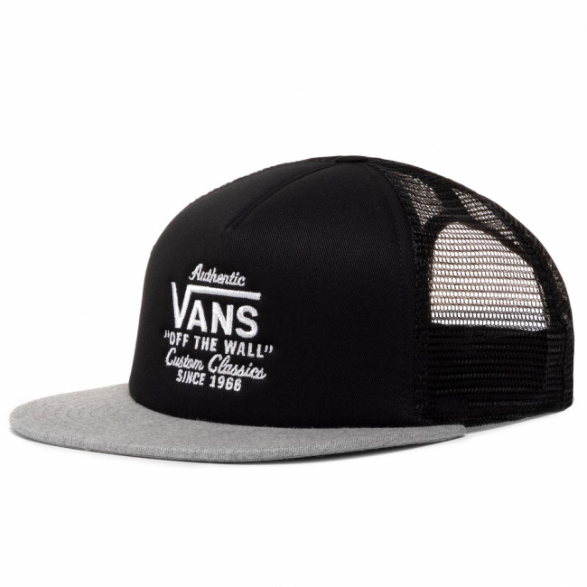 Šiltovka VANS - Galer Trucker VN0A31CDBJ31  Black/Heather