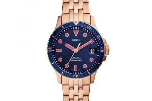 Hodinky FOSSIL - FB-01 ES4767 Rose Gold