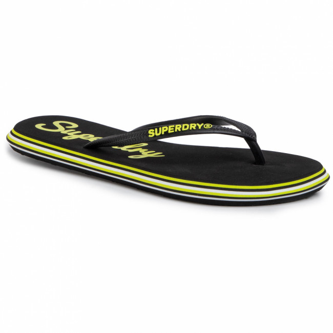 Žabky SUPERDRY - Neon Rainbow Sleek Flip Flop WF310010A  Neon Yellow 24K