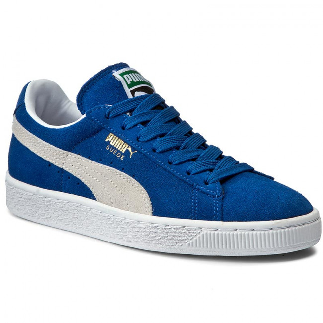 Sneakersy PUMA - Suede Classic+ 352634 64 Olympian Blue/White