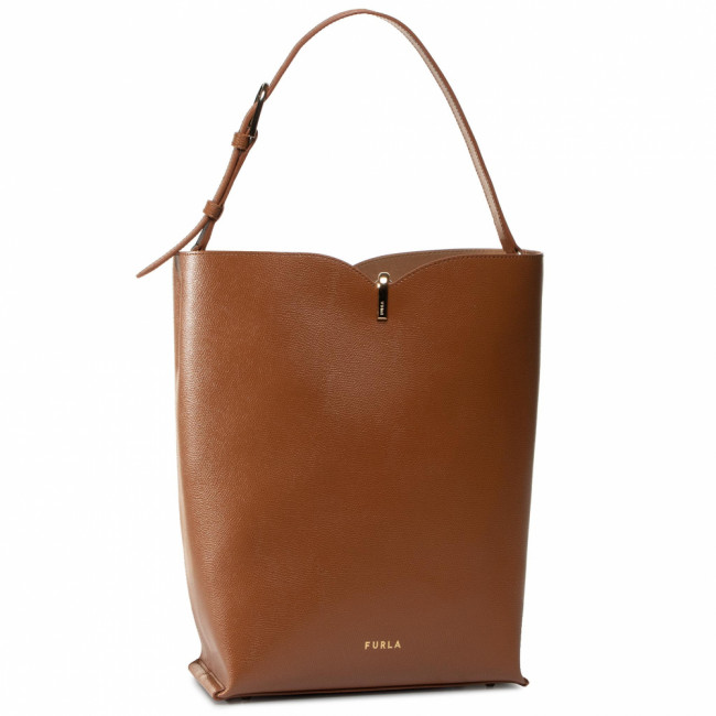 Kabelka FURLA - Ribbon 1055895 B BACS ARE  Cognac h