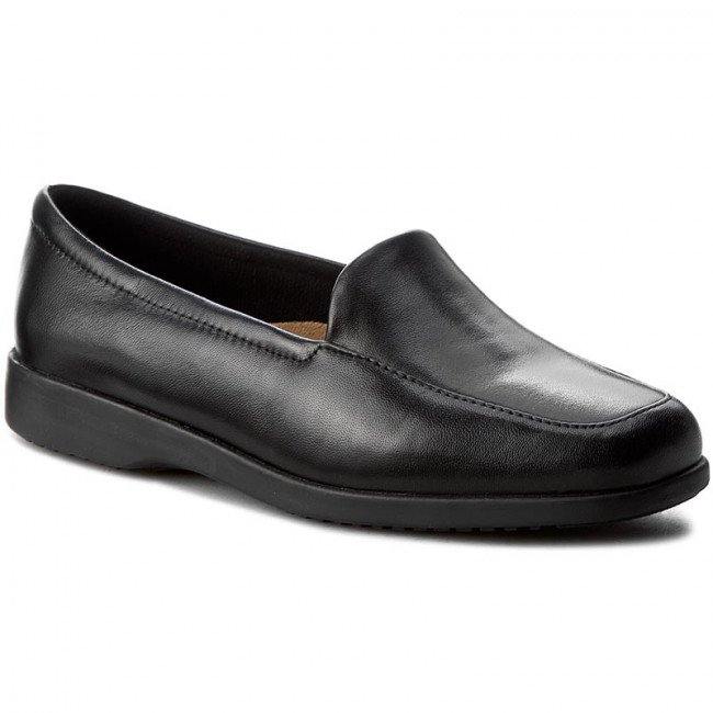Poltopánky CLARKS - Georgia 002547937 Black Leather