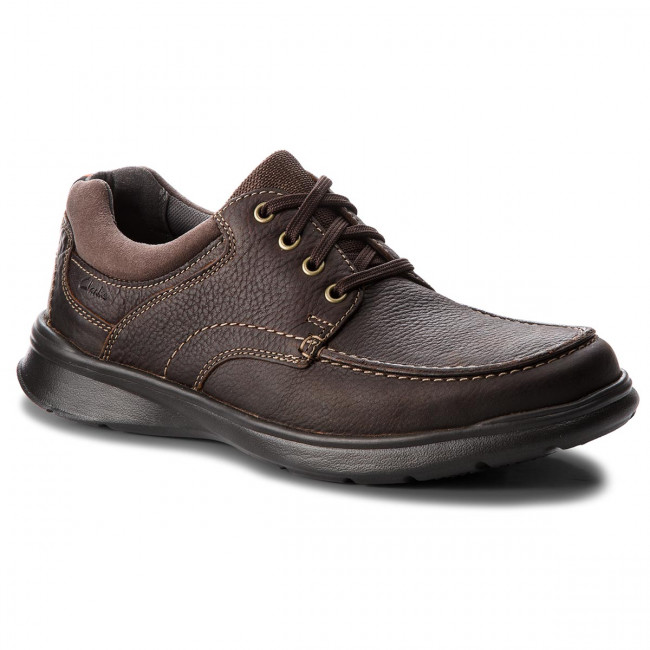Poltopánky CLARKS - Cotrell Edge 261198037 Brown Oily