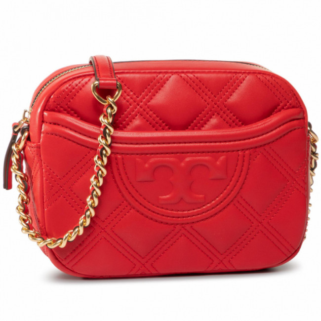 Kabelka TORY BURCH - Fleming Soft Camera 62091 Brilliant Red 612
