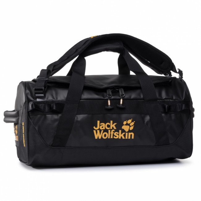 Taška JACK WOLFSKIN - Expedition Trunk 30 2008641-6000 Black