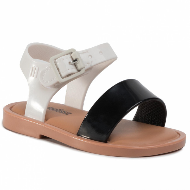 Sandále MELISSA - Mini Melissa Mar Sandal III Bb 32633 Black/White/Brown 52909