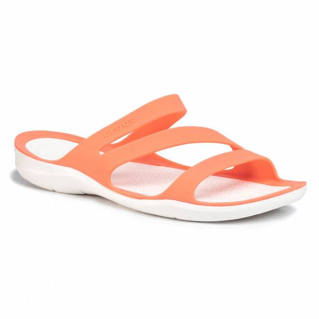 Šľapky CROCS - Swiftwater Sandal W 203998 Grapefruit/White