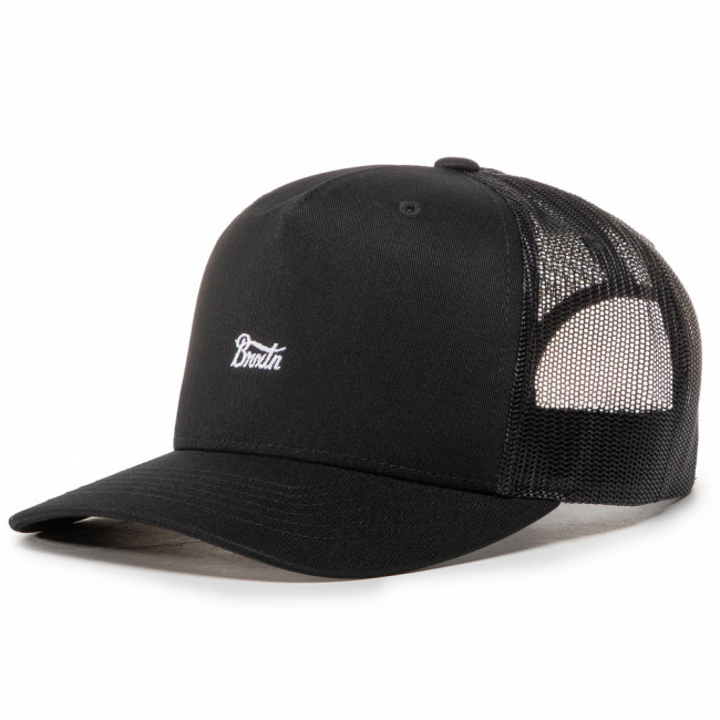 Šiltovka BRIXTON - Stith II Mp Mesh Cap Black