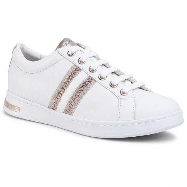 Sneakersy GEOX - D Jaysen A D921BA 085NF C1ZH8 White/Rose Gold