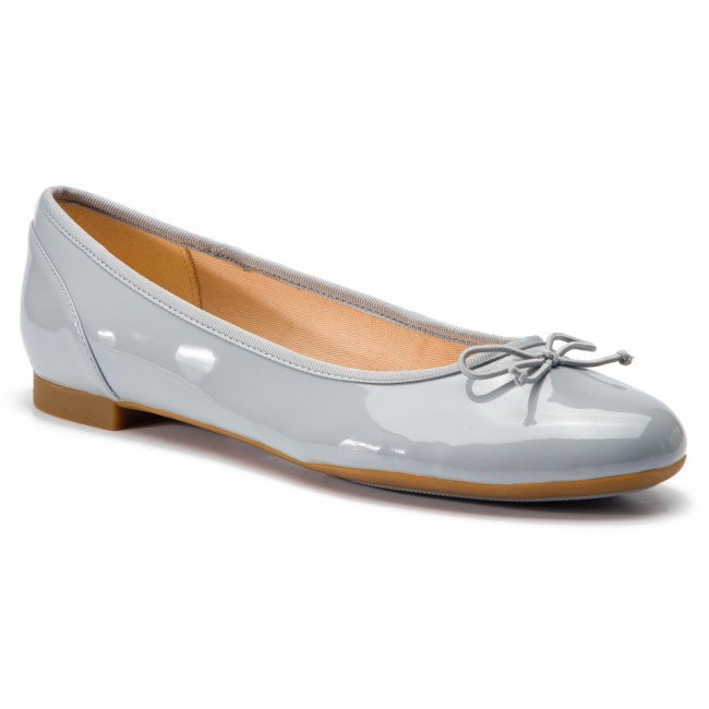 Baleríny CLARKS - Couture Bloom 261392924 Grey/Blue