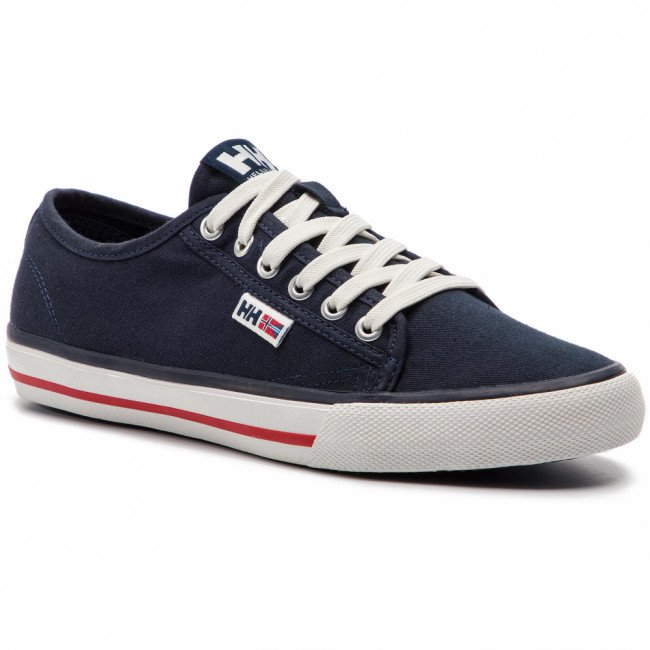 Tenisky HELLY HANSEN - Fjord Canvas Shoe V2 114-65.597 Navy/Red/Off White