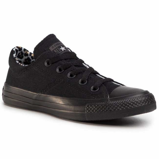 Tramky CONVERSE - Ctas Madison Ox 567149C  Black/Black/Multi