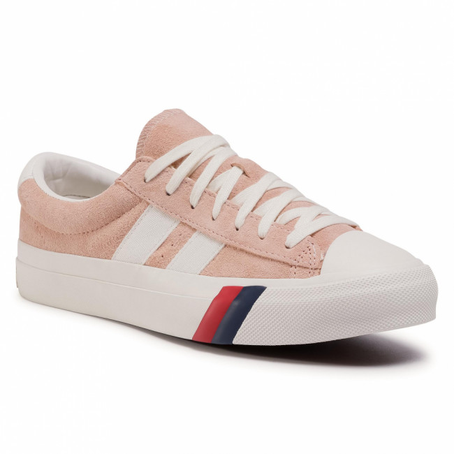 Tramky PRO-KEDS - Royal Plus Sde PH60191 Dusty Pink
