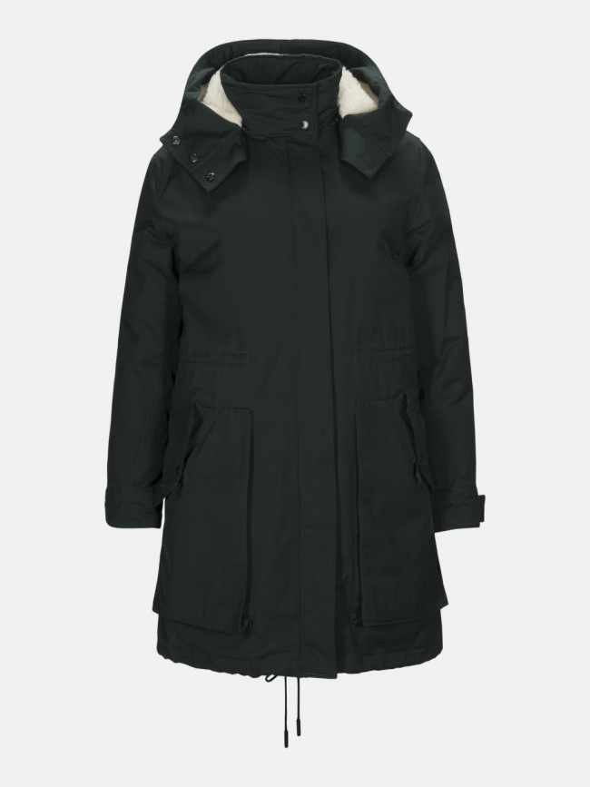 Kabát Peak Performance Billie Pka Coat - Zelená