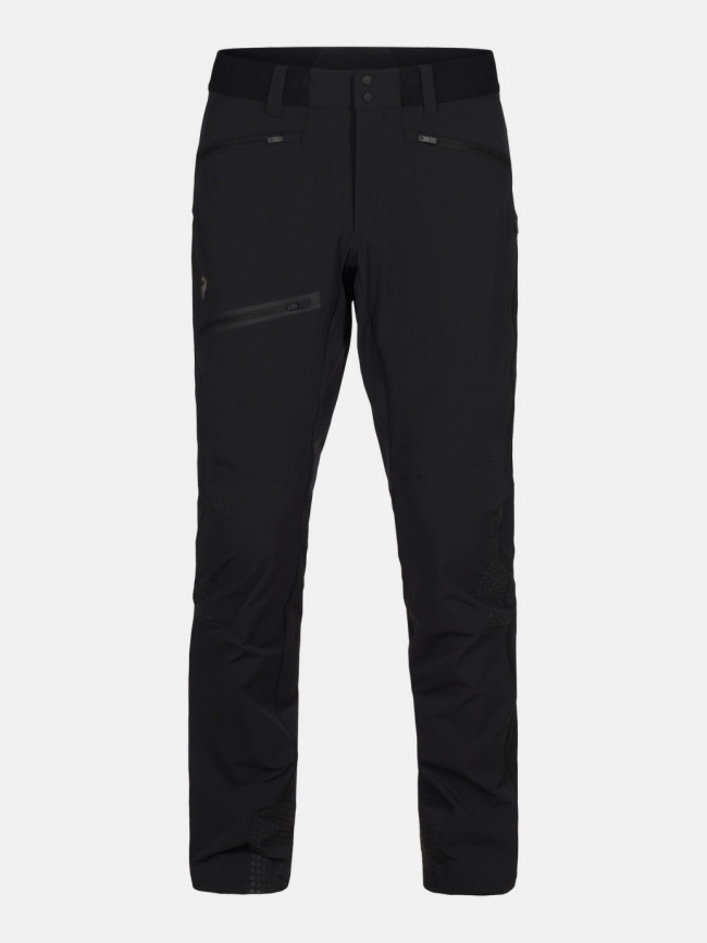 Nohavice Peak Performance M Light Soft Shell V Pant - Čierna