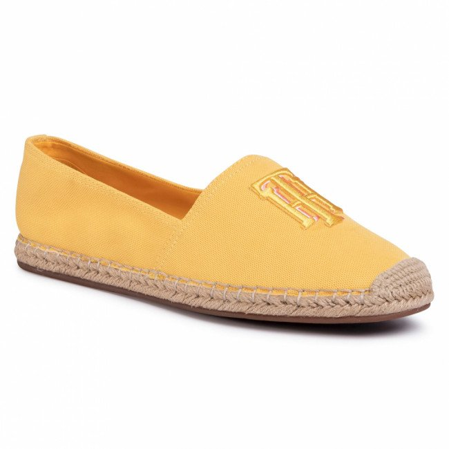 Espadrilky TOMMY HILFIGER - Nautical Th Basic Espadrille FW0FW04750 Sunny ZEK