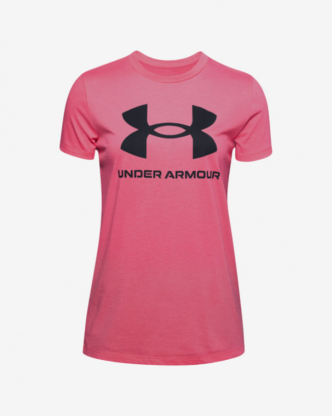 Under Armour Live Sportstyle Graphic Tričko Ružová
