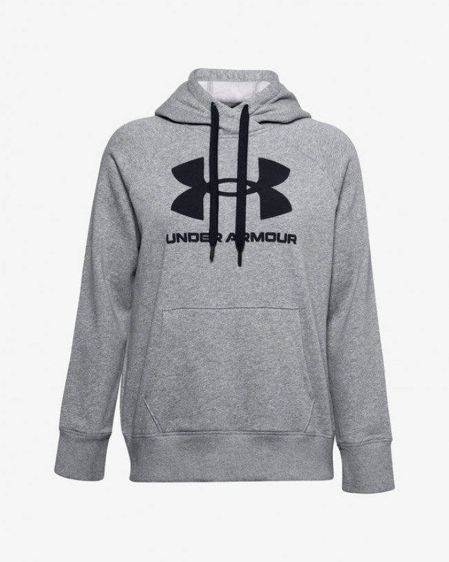 Under Armour Rival Fleece Logo Mikina Šedá