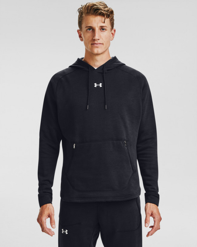 Under Armour Charged Cotton® Fleece Mikina Čierna