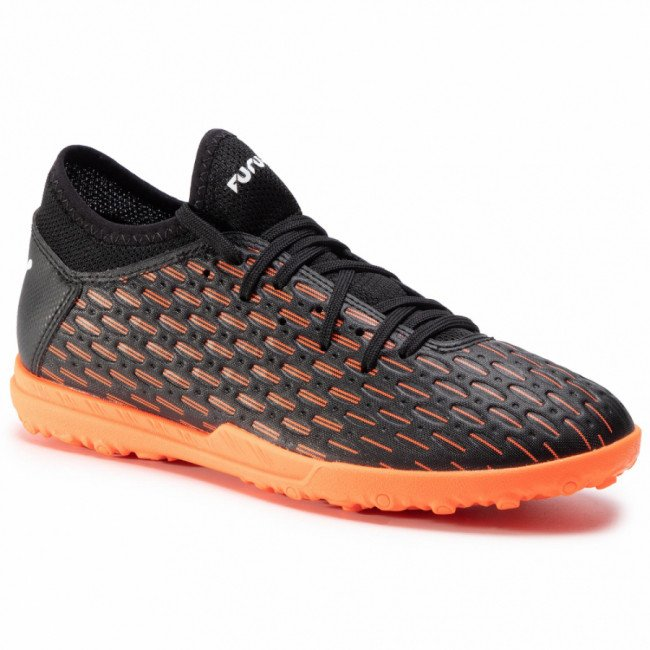Topánky PUMA - Future 6.4 Tt Jr 106209 01 Black/White/Shocking Orange