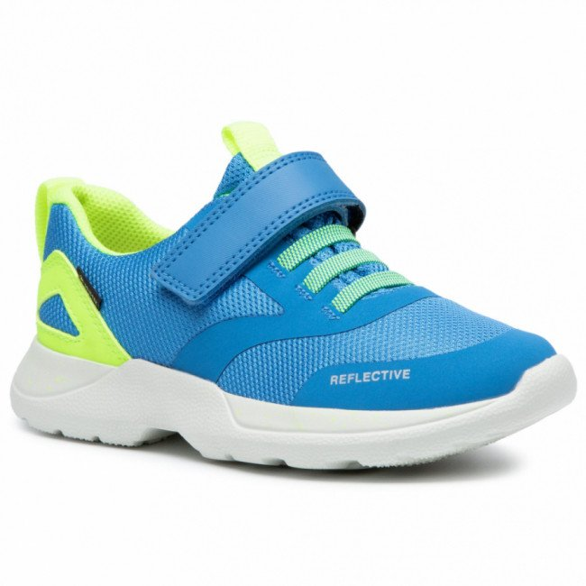 Sneakersy SUPERFIT - GORE-TEX 1-009209-8010 D Blau/Gelb