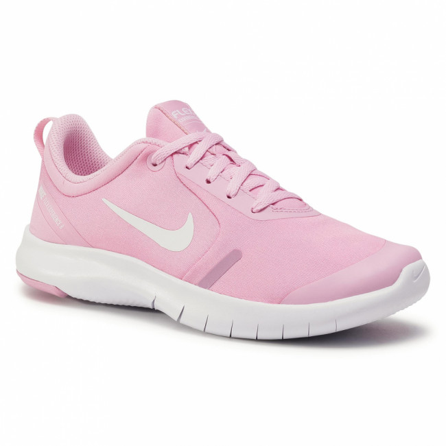 Topánky NIKE - Flex Experience Rn 8 Gs AQ2248 600 Pink Rise/White/Pink Foam