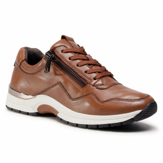 Sneakersy CAPRICE - 9-23701-25 Cognac Soft Na 335