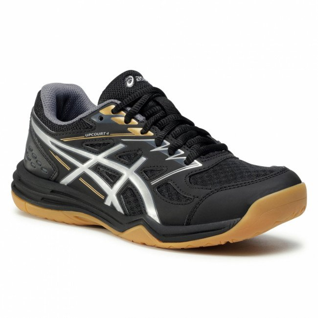Topánky ASICS - Upcourt 4 Gs 1074A027  Black/Pure Silver 001