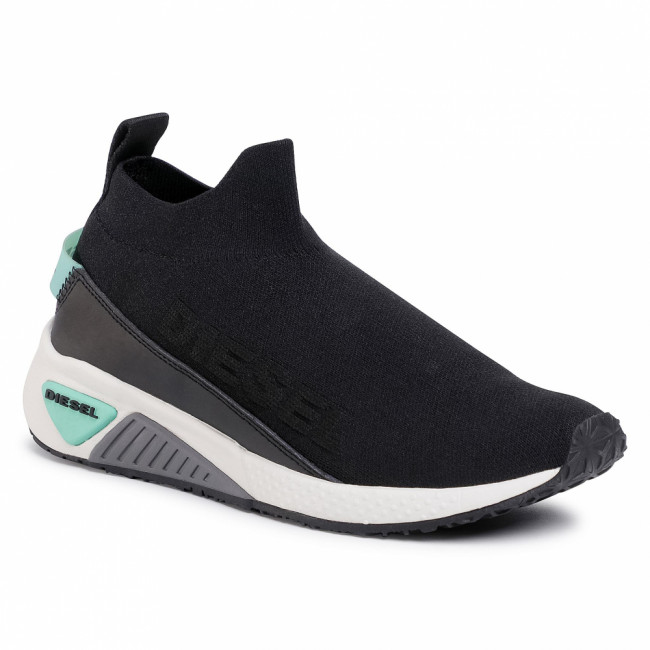 Sneakersy DIESEL - S-Kb Sock Qb W Y02406 P2600 T8013 Black