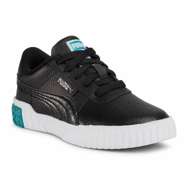 Sneakersy PUMA - Cali Ps 373156 02 Puma Black/Viridian Green