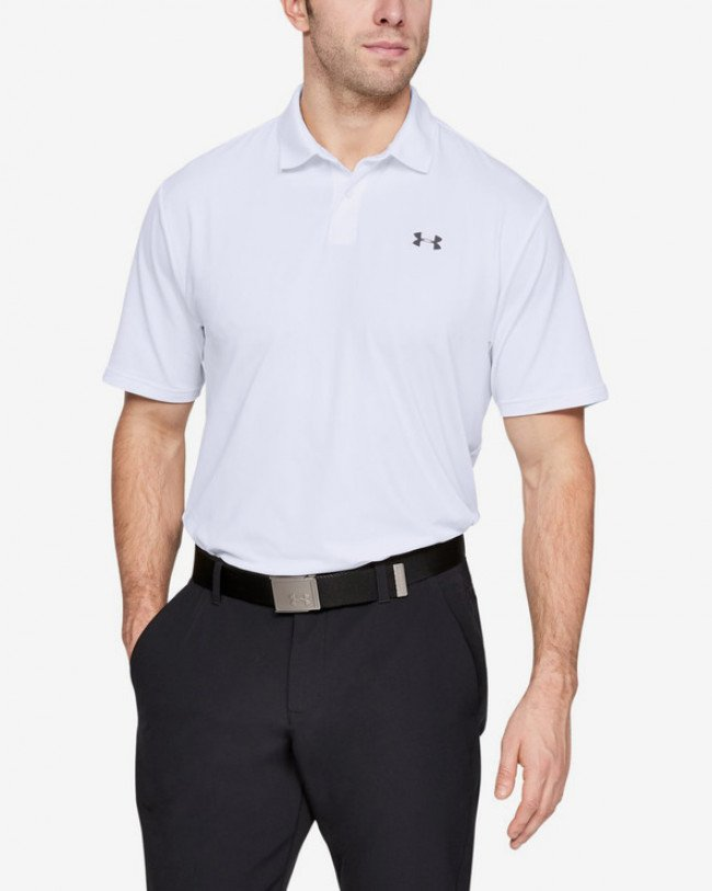 Under Armour Performance Polo Tričko Biela