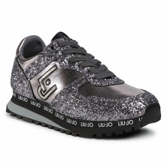 Sneakersy LIU JO - Wonder 145 4F0703 EX015 Pewter 00572