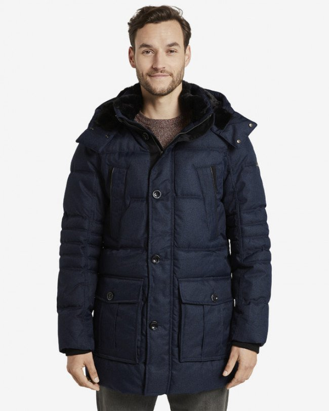 Tom Tailor Parka Modrá