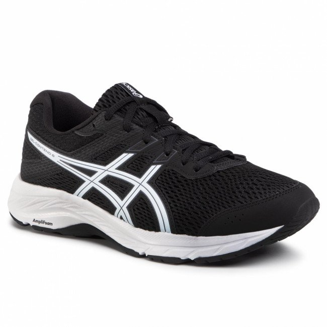 Topánky ASICS - Gel-Contend 6 1011A667 Black/White 003