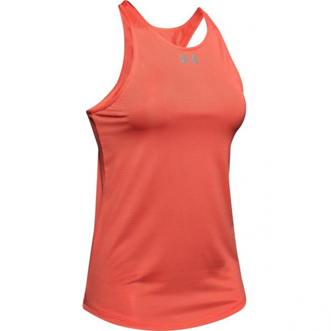 Tielko Under Armour Qualifier Tank-Red