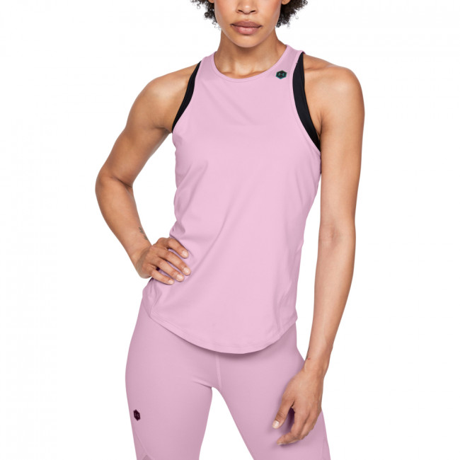 Tielko Under Armour Rush Tank-Pnk