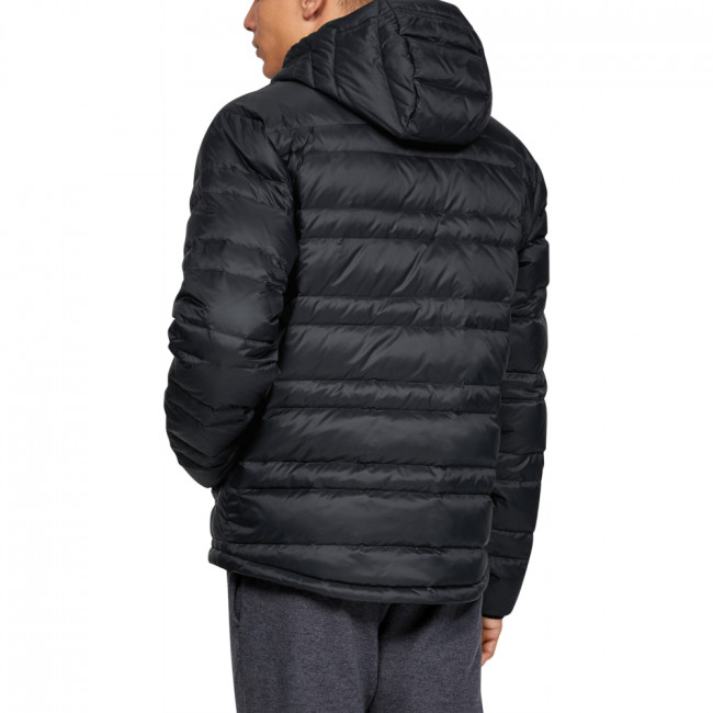 Bunda Under Armour Armour Down Hooded Jkt-BLK